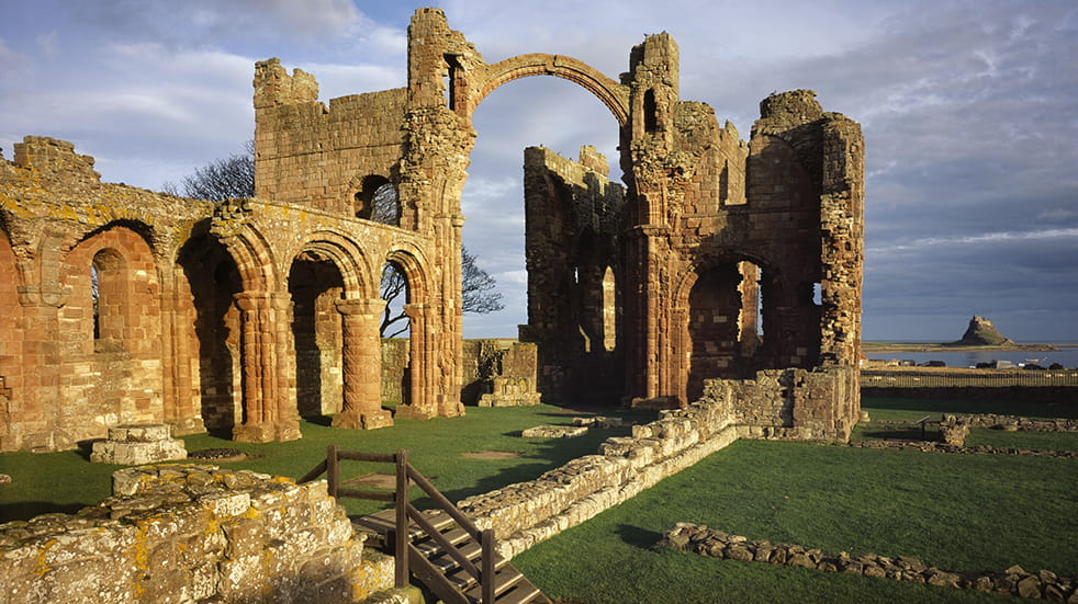 Best English Heritage visits: Lindisfarne Priory