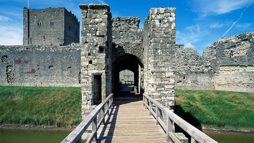 Best English Heritage visits: Portchester Castle
