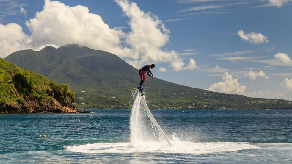 watersports to try flyboarding
