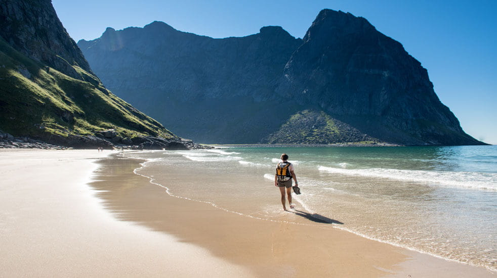 8 dream holidays for individuals; Lofoten