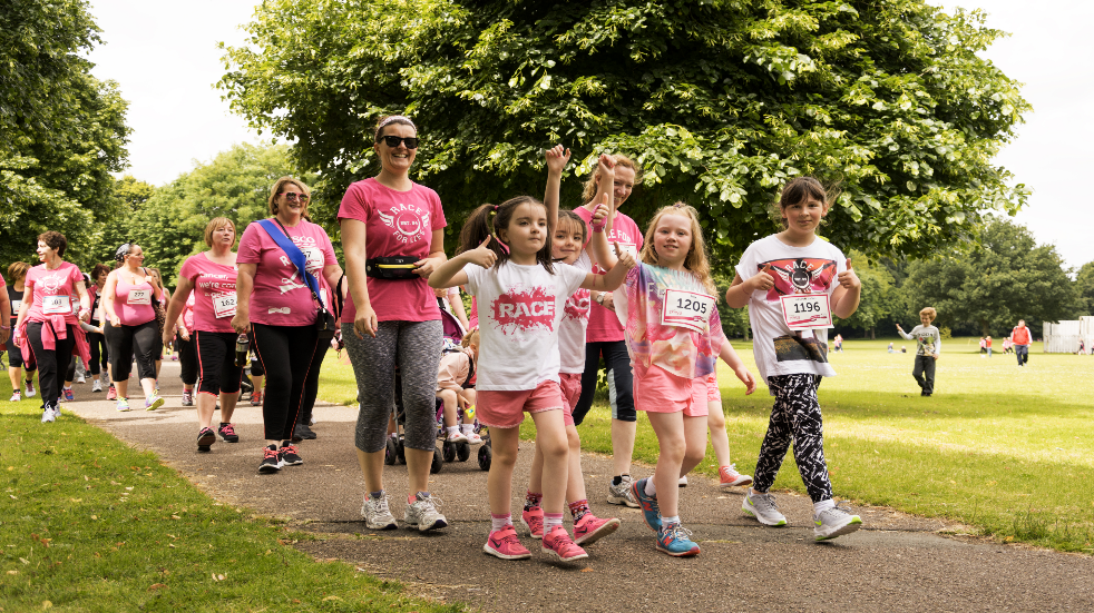 Charity fun run for all the family