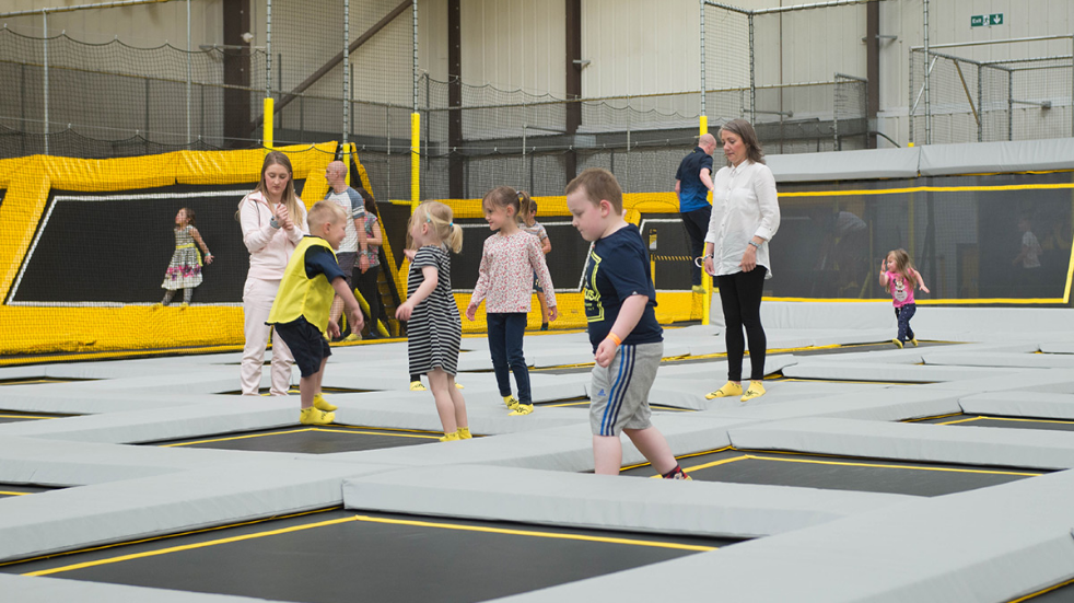 Experience trampolining this half term