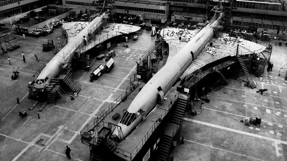 The history of Concorde and supersonic flight