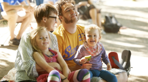 A guide to first time festivals with the kids