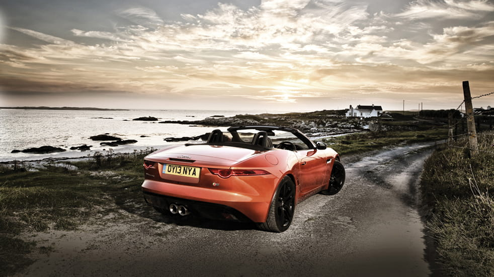 Boundless Epic drive: Jaguar F-type county Mayo