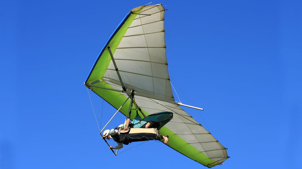 Best adrenaline days out: hang gliding