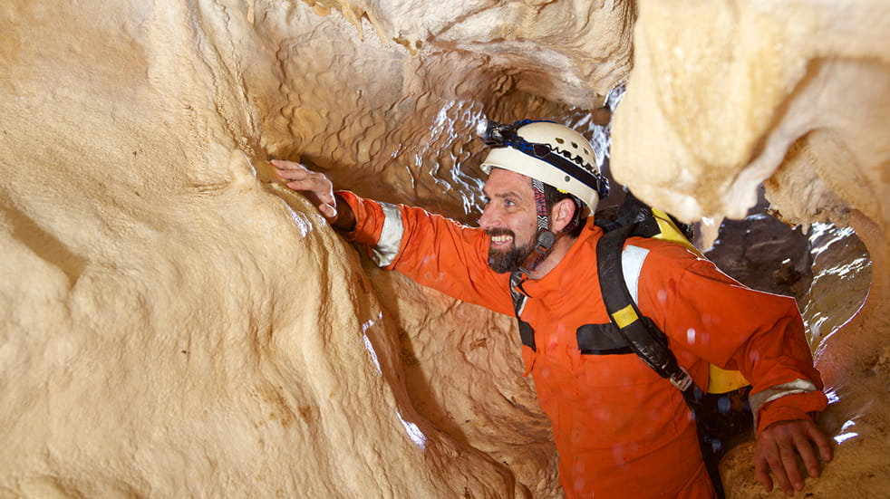 Best adrenaline days out: pot holing and caving