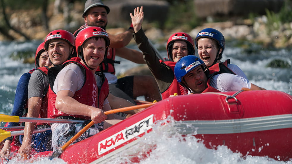 Best adrenaline days out: white water rafting