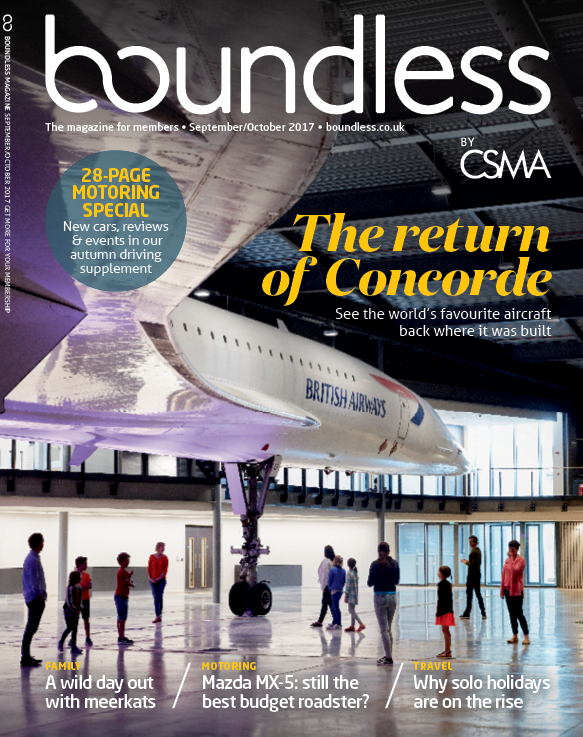 October November issue of Boundless managazine by CSMA