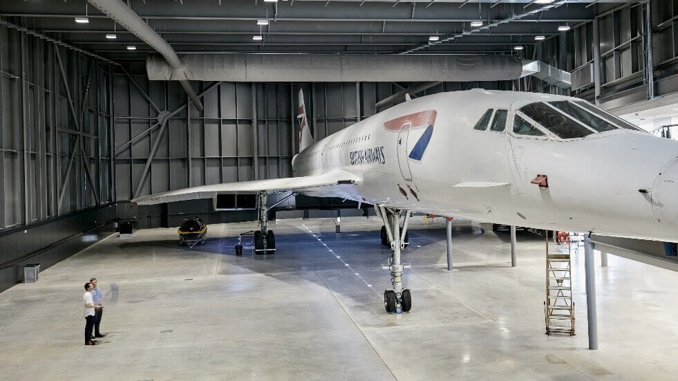 Tickets to see the last Concorde made in Bristol