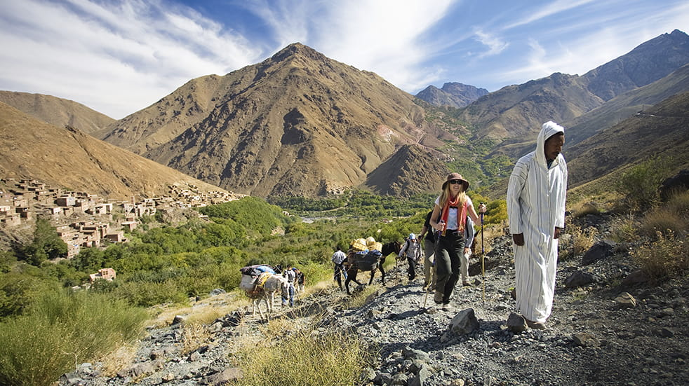 Guided walks in Morocco