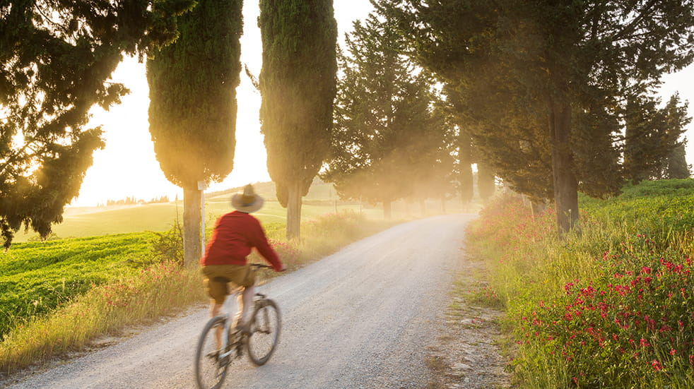 Alternative ways to travel on a cycling holiday