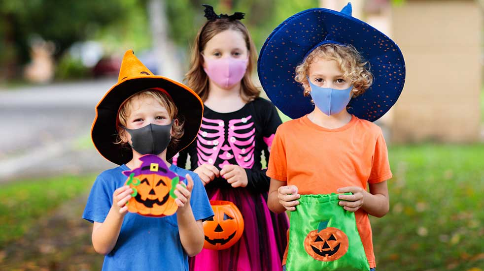 Kids trick or treating costumes