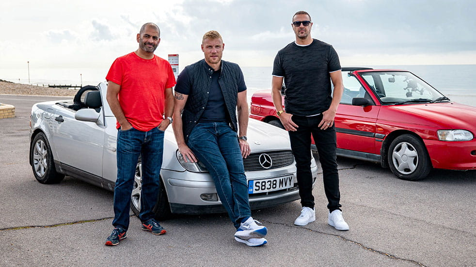 Autumn TV for petrolheads Top Gear presenters