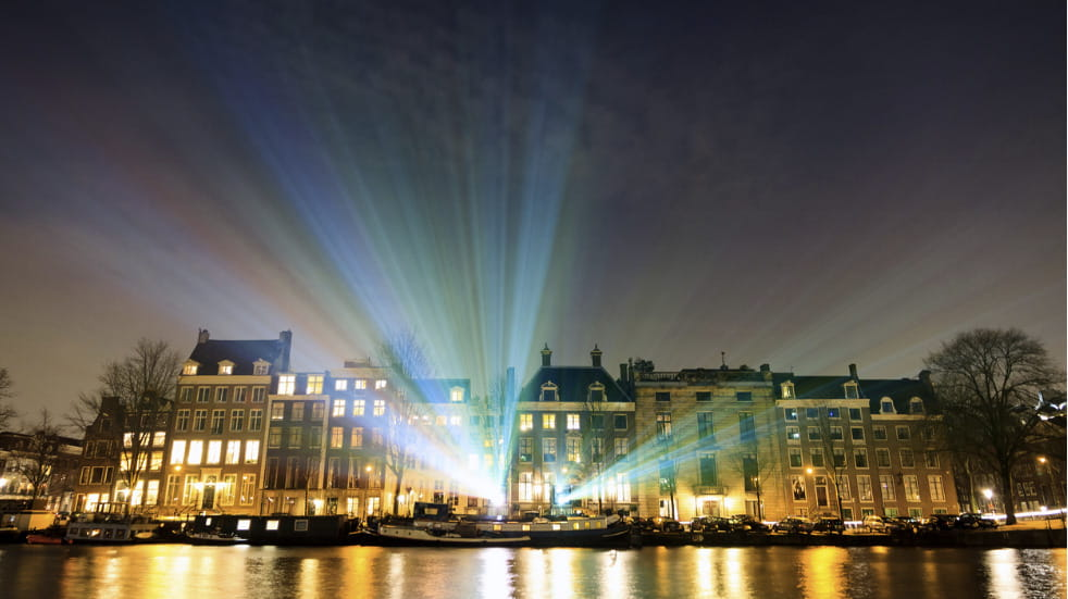 Experience the Festival of Light in Amsterdam