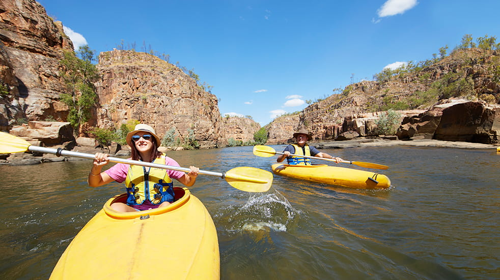 Best of Australia's Northern Territory: Katherine Gorge canoeing