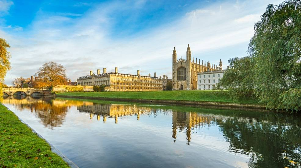 Best British bike rides: Cambridge city centre