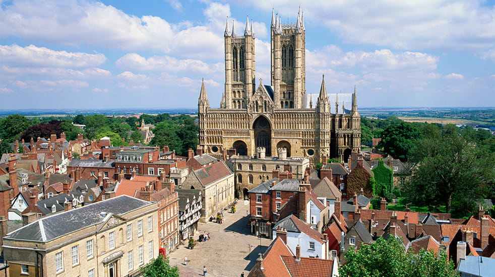 Best British bike rides: Lincoln cathedral