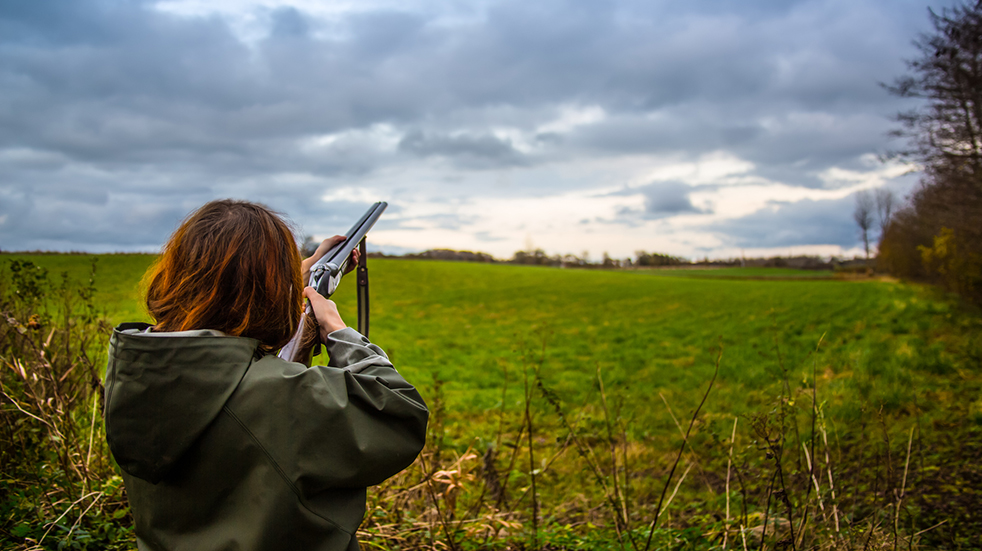 Best autumn activities: clay pigeon shooting