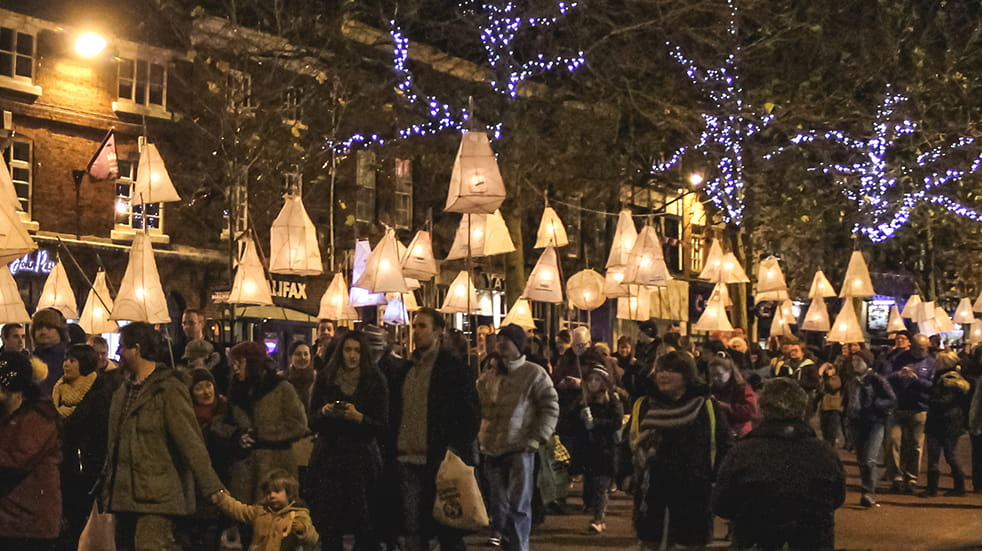 Best autumn activities: Droving lantern parade