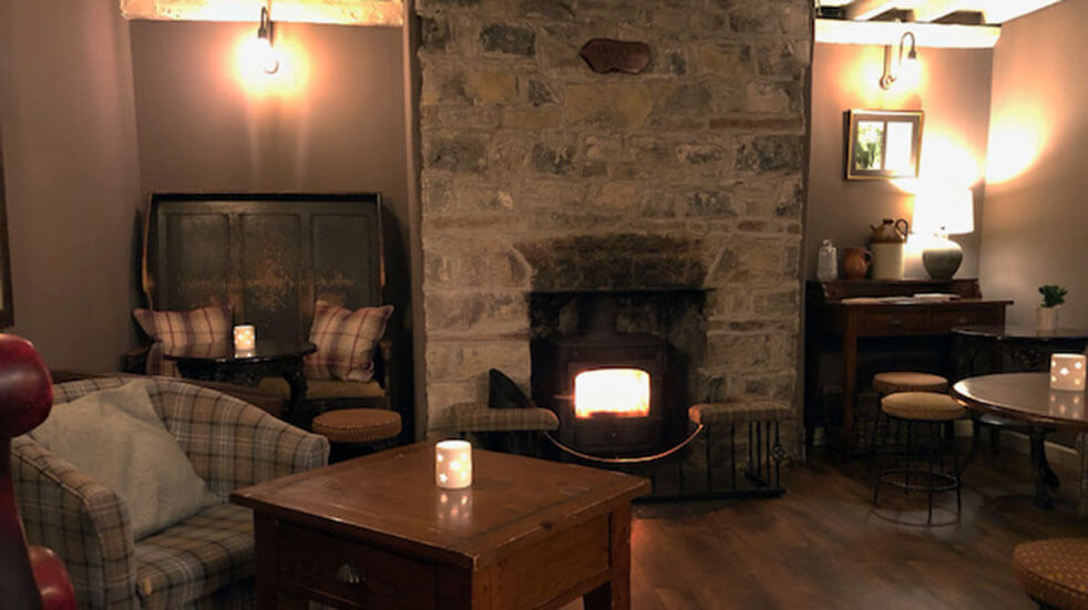 The best cosy pubs in the UK: Harry's Bar in the Fox & Hounds in Llancarfan