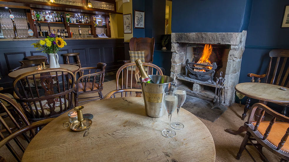 The best cosy pubs in the UK: the Red Pump Inn in the Ribble Valley