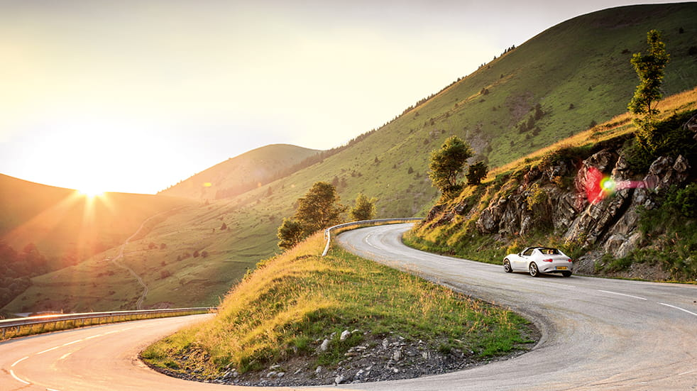 Best drives in France: Route Napoleon hairpin bends