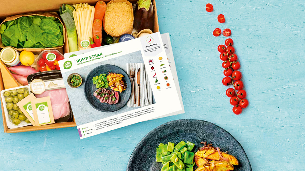 Best food recipe boxes: Hello Fresh