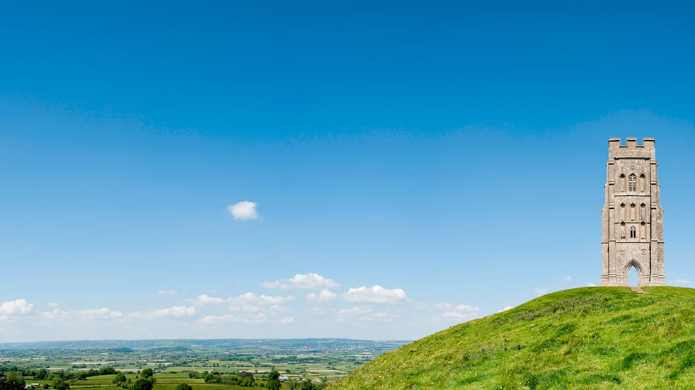 The best free family days out in Somerset - Glastonbury Tor