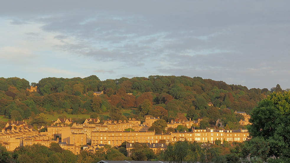The best free family days out in Somerset - Bath skyline walk
