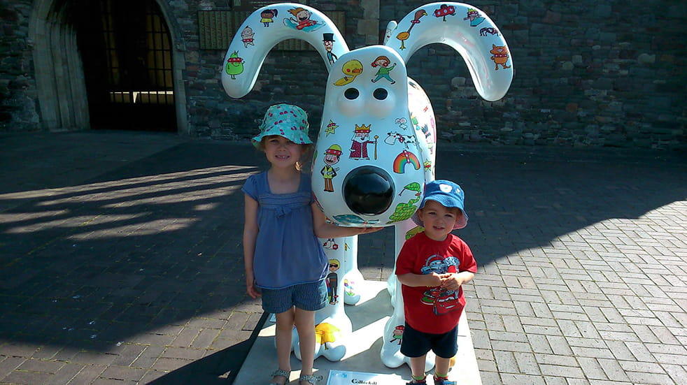 The best free family days out in Somerset - Bristol Gromit sculpture trail