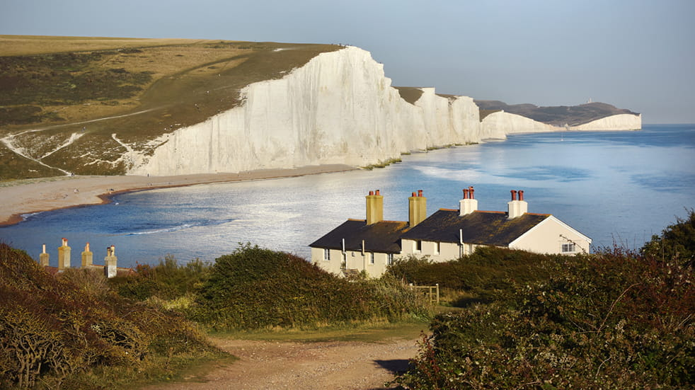 Best free days out in Sussex - Beachy Head