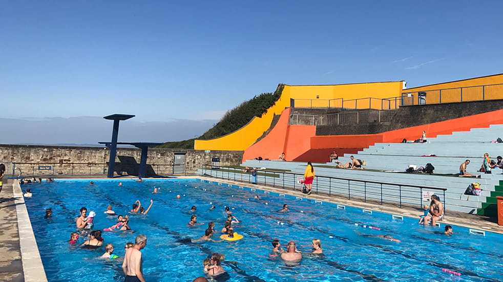 Best lidos and outdoor swimming pools: Portishead Lido