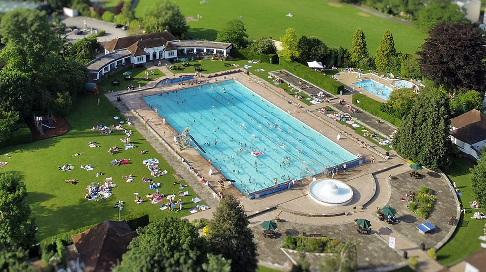Best lidos and outdoor swimming pools: Sandford Parks Lido
