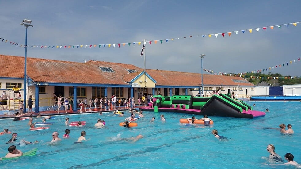 Best lidos and outdoor swimming pools: Stonehaven pool Aberdeen