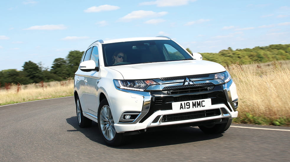 Best new cars for 2019 Mitsubishi Outlander PHEV