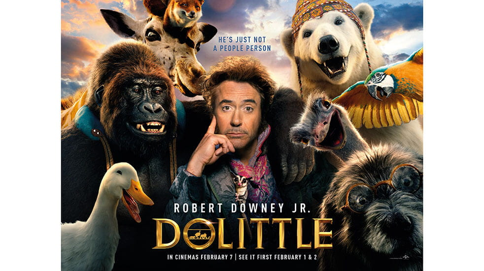 The best new films in cinema February 2020: Dr Dolittle