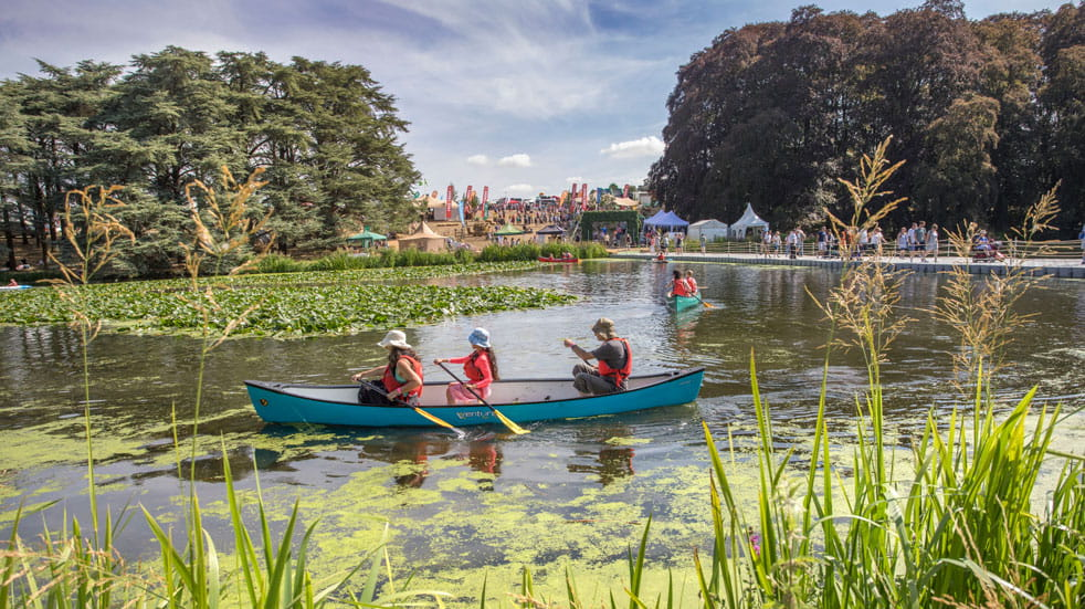 Countryfile Live involves lots of waterside activities