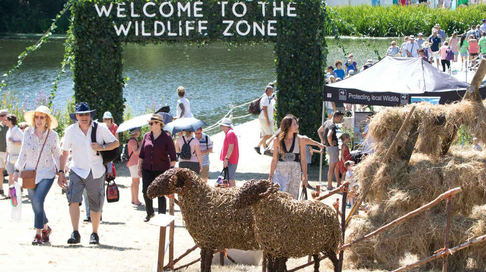 Countryfile Live has its own Wildlife Zone