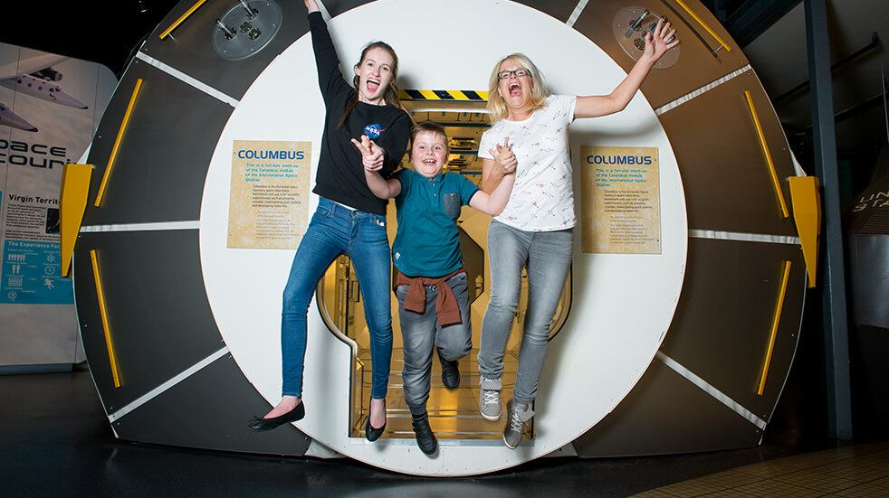 Best UK space days out: National Science Centre Leicester