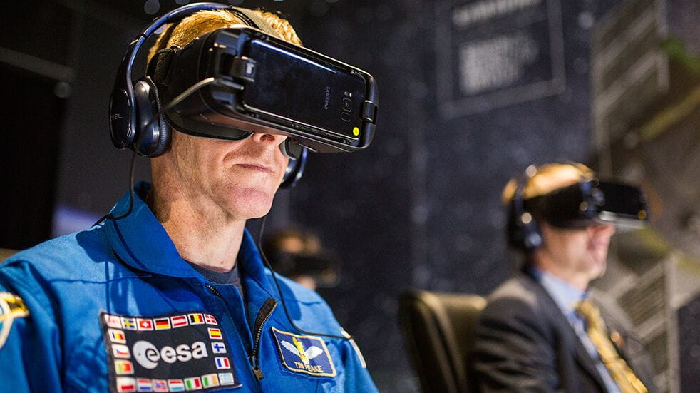 Best UK space days out: Tim Peake virtual reality Soyez capsule descent