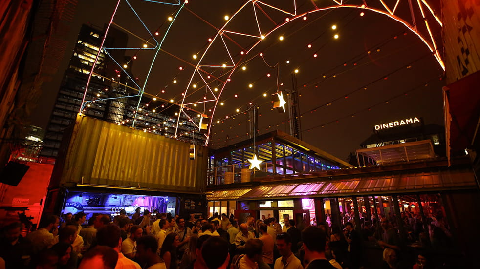 The best street food UK: Dinerama, East London