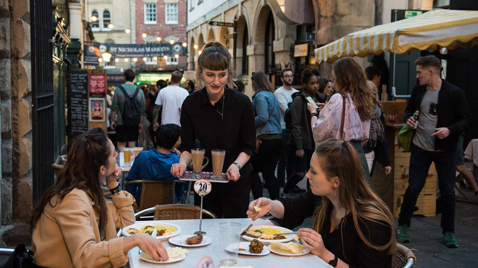 The best street food UK: St Nick's night market, Bristol