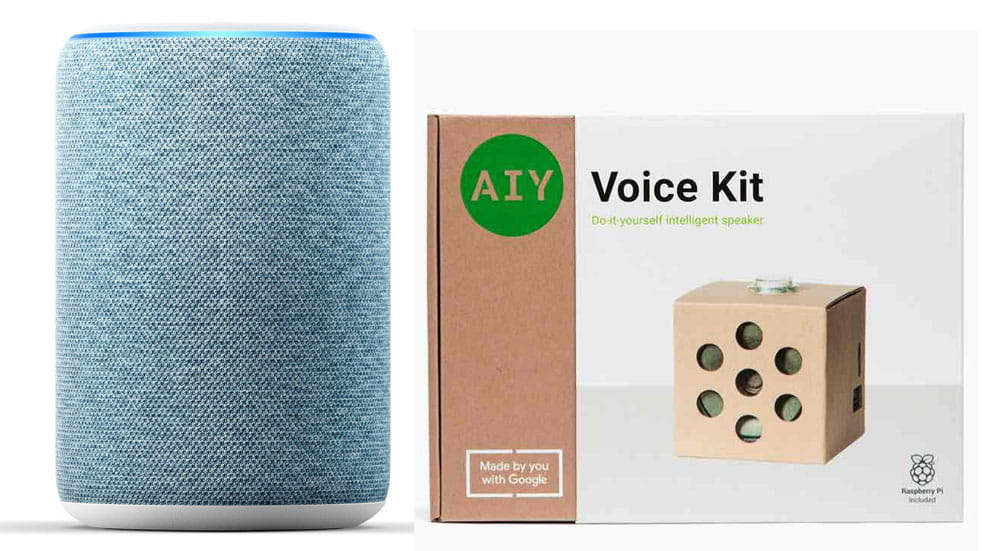 Best tech toys for kids: Amazon Echo and AIY voice kit
