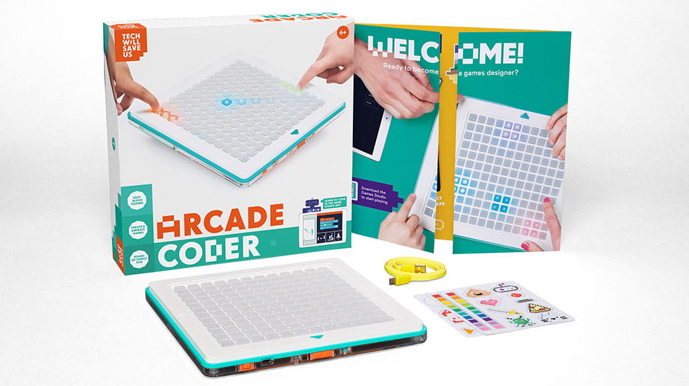 Best tech toys for kids: Arcade Coder