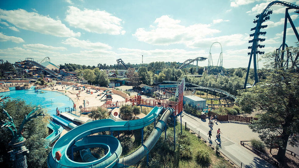 Things to do with kids: rides at the Island at Thorpe Park theme park