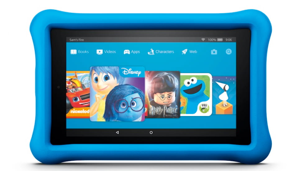 The best travel toys for kids: Amazon Kindle Fire tablet