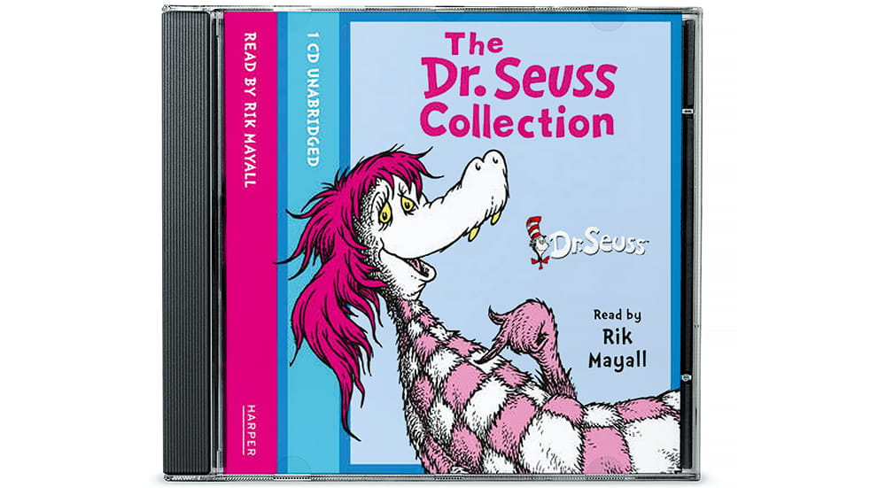 The best travel toys for kids: Dr Seuss audio collection