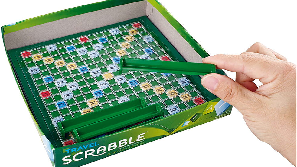 The best travel toys for kids: Travel Scrabble