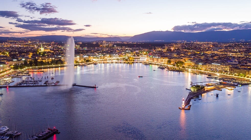 Best unusual short break destinations - Geneva, Switzerland